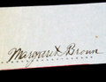 Molly Brown's Signature
